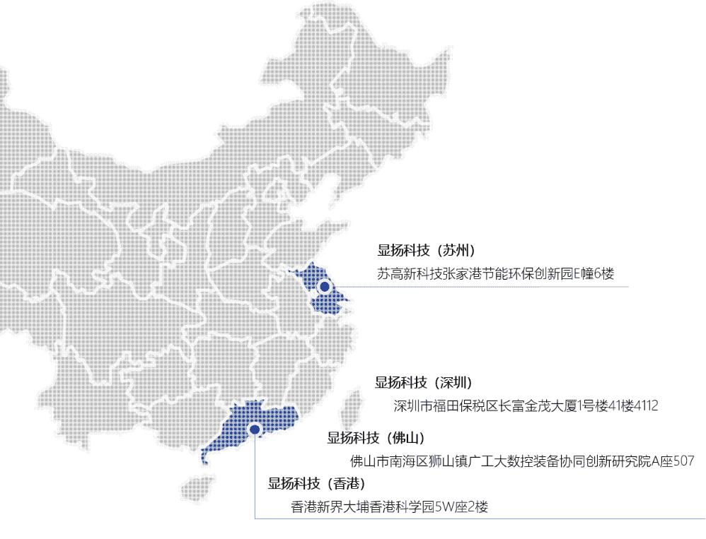 广东省书记来显扬科技参观指导