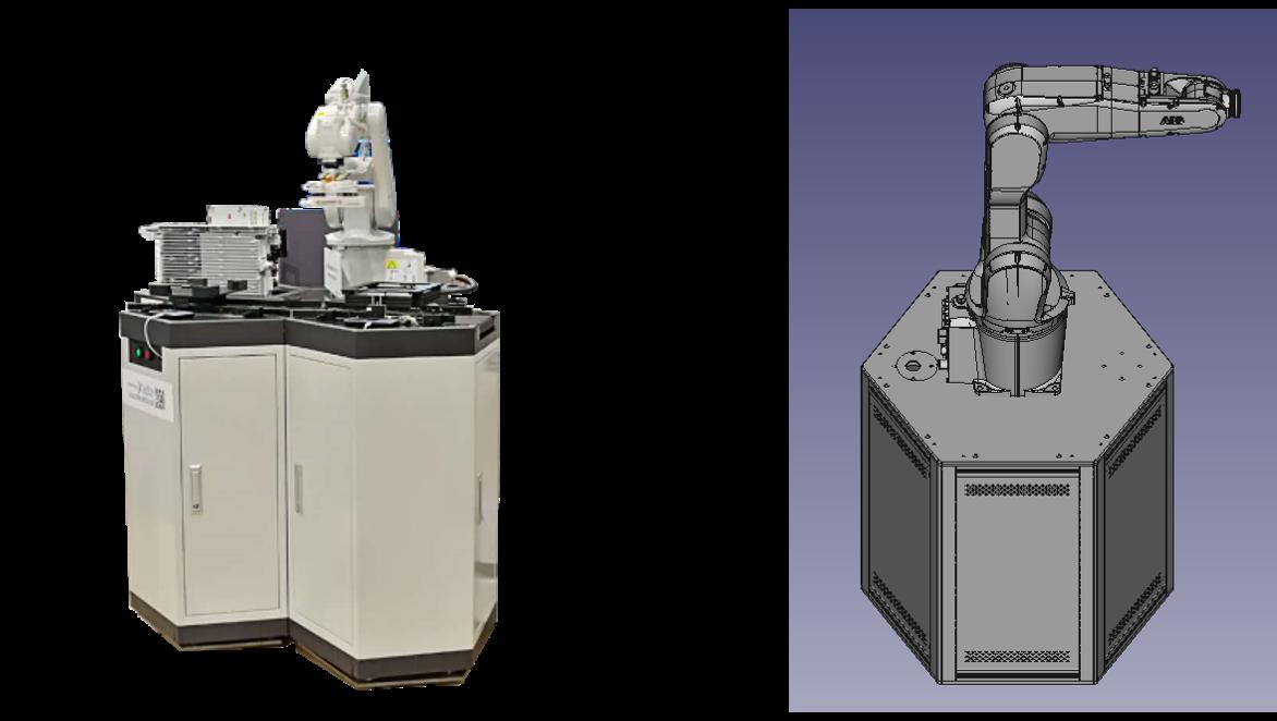 柔性智能制造实训室 工业机器人 协作机器人 人工智能