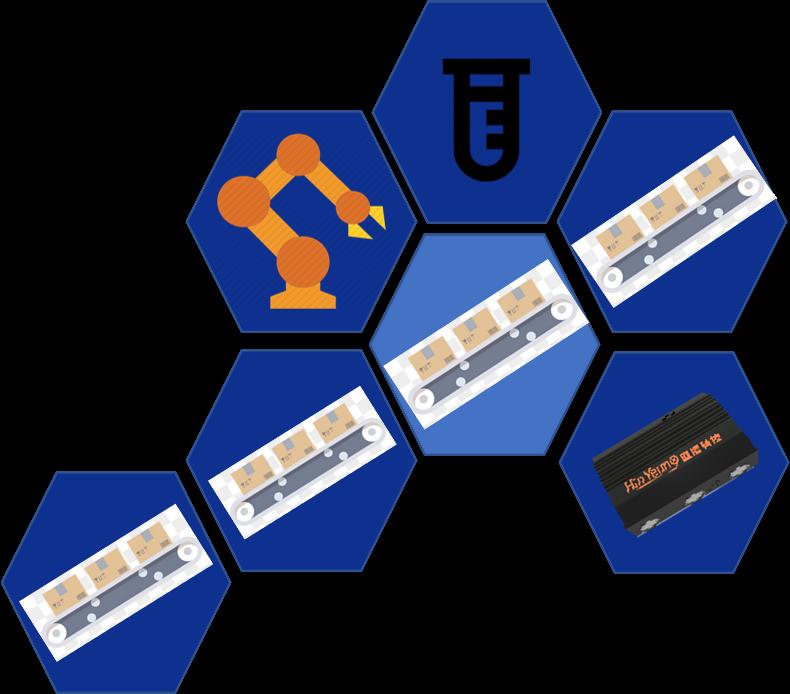 模块化机器人与机器视觉教学平台 工业机器人 协作机器人 人工智能