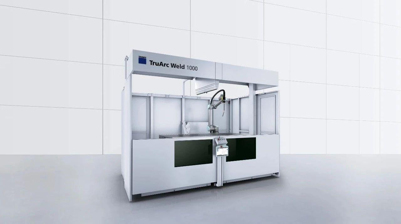 优傲机器人自动焊接工作站