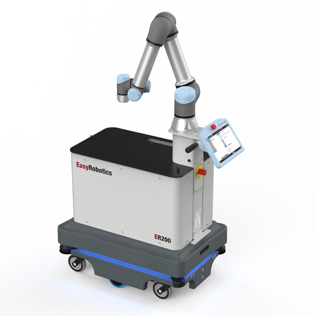 AGV搭载UR机器人